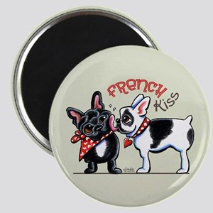 French Kiss Cute Magnet